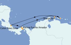 Itinerario de crucero Caribe del Este 9 días a bordo del Norwegian Jewel