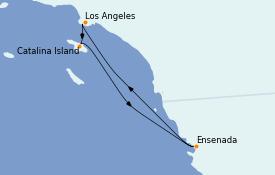 Itinéraire de la croisière Californie 5 jours à bord du Navigator of the Seas