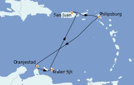 Itinerario de crucero Caribe del Este 8 días a bordo del Explorer of the Seas