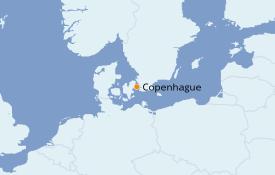 Itinéraire de la croisière Mer Baltique 3 jours à bord du Le Bellot