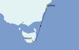 Itinerario de crucero Australia 2022 8 días a bordo del Le Lapérouse