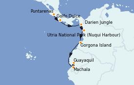 Itinerario de crucero Caribe del Este 12 días a bordo del Silver Wind