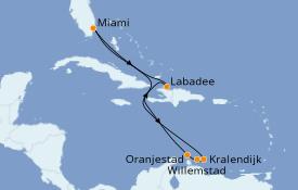 Itinéraire de la croisière Caraïbes de l'Est 10 jours à bord du Explorer of the Seas