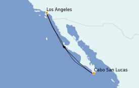 Itinéraire de la croisière Riviera Mexicaine 6 jours à bord du Navigator of the Seas