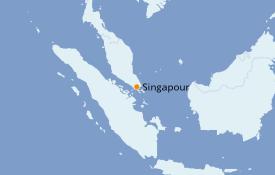 Itinéraire de la croisière Asie 7 jours à bord du Star Clipper