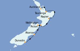 Itinerario de crucero Australia 2022 8 días a bordo del Le Soléal