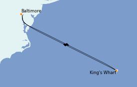 Itinéraire de la croisière Bahamas 7 jours à bord du Enchantment of the Seas