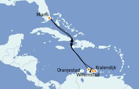 Itinéraire de la croisière Caraïbes de l'Est 9 jours à bord du Explorer of the Seas