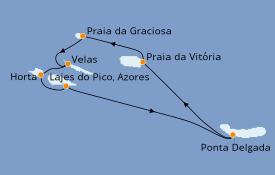 Itinéraire de la croisière Îles Canaries 8 jours à bord du Le Champlain