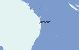 Itinéraire de la croisière Australie 2021 4 jours à bord du Quantum of the Seas