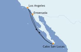 Itinéraire de la croisière Riviera Mexicaine 6 jours à bord du Norwegian Joy