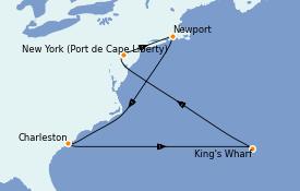 Itinéraire de la croisière Canada 10 jours à bord du Celebrity Summit