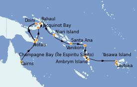 Itinerario de crucero Australia 2022 17 días a bordo del Silver Explorer