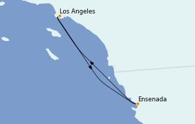 Itinéraire de la croisière Californie 4 jours à bord du Navigator of the Seas